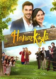 Красивый постер к турецкому сериалу Сельская госпожа