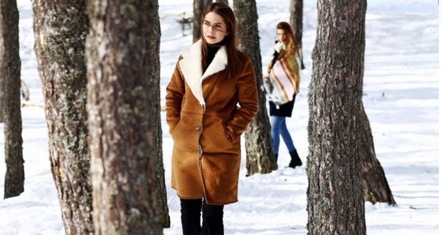 Фото на фоне зимы из 81 серии сериала Это моя жизнь