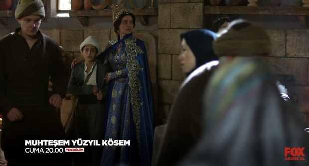 Один из моментов 34 серии Кёсем Султан