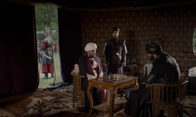 Промо фото к 55 серии сериала Кёсем Султан
